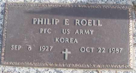 ROELL (VETERAN KOR), PHILIP E - White County, Arkansas | PHILIP E ROELL (VETERAN KOR) - Arkansas Gravestone Photos