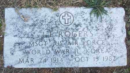 ROGERS (VETERAN 2 WARS), J E - White County, Arkansas | J E ROGERS (VETERAN 2 WARS) - Arkansas Gravestone Photos