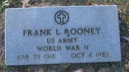 ROONEY (VETERAN WWII), FRANK L - White County, Arkansas | FRANK L ROONEY (VETERAN WWII) - Arkansas Gravestone Photos