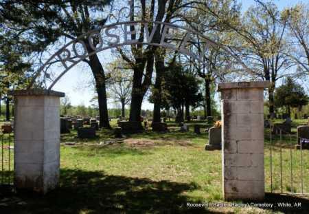 *ROOSEVELT CEMETERY,  - White County, Arkansas    *ROOSEVELT CEMETERY - Arkansas Gravestone Photos