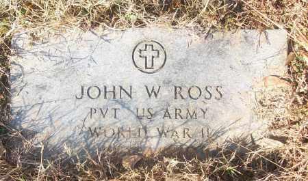 ROSS (VETERAN WWII), JOHN W - White County, Arkansas | JOHN W ROSS (VETERAN WWII) - Arkansas Gravestone Photos