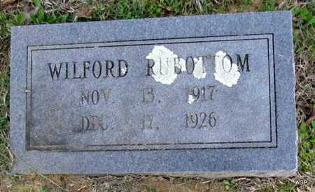 RUBOTTOM, WILFORD - White County, Arkansas | WILFORD RUBOTTOM - Arkansas Gravestone Photos