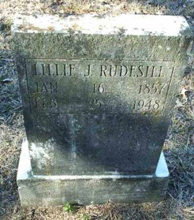 RUDESILL, LILLIE JANE - White County, Arkansas | LILLIE JANE RUDESILL - Arkansas Gravestone Photos