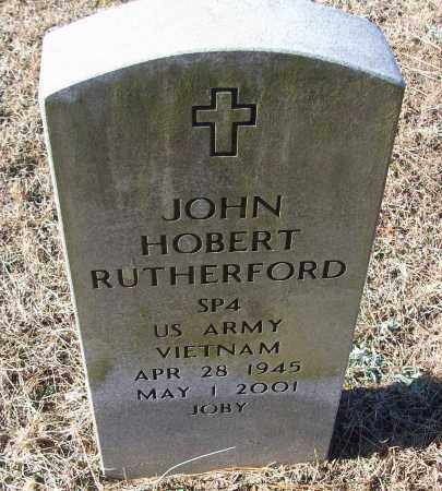 RUTHERFORD (VETERAN VIET), JOHN HOBERT - White County, Arkansas   JOHN HOBERT RUTHERFORD (VETERAN VIET) - Arkansas Gravestone Photos