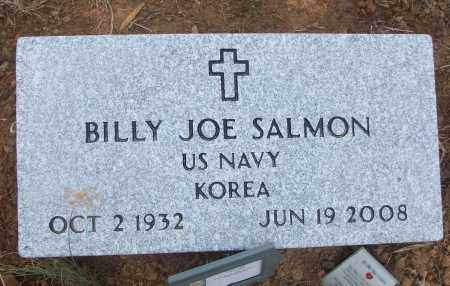SALMON (VETERAN KOR), BILLY JOE - White County, Arkansas   BILLY JOE SALMON (VETERAN KOR) - Arkansas Gravestone Photos