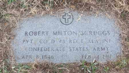 SCRUGGS (VETERAN CSA), ROBERT MILTON - White County, Arkansas | ROBERT MILTON SCRUGGS (VETERAN CSA) - Arkansas Gravestone Photos