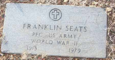 SEATS (VETERAN WWII), FRANKLIN - White County, Arkansas | FRANKLIN SEATS (VETERAN WWII) - Arkansas Gravestone Photos