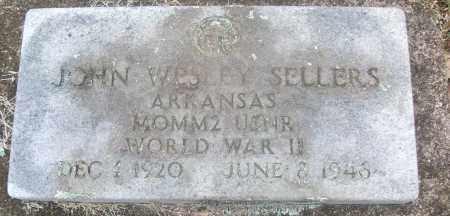 SELLERS  (VETERAN WWII), JOHN WESLEY - White County, Arkansas | JOHN WESLEY SELLERS  (VETERAN WWII) - Arkansas Gravestone Photos
