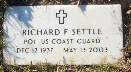 SETTLE (VETERAN), RICHARD F - White County, Arkansas   RICHARD F SETTLE (VETERAN) - Arkansas Gravestone Photos