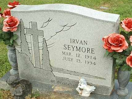 SEYMORE, IRVAN - White County, Arkansas | IRVAN SEYMORE - Arkansas Gravestone Photos