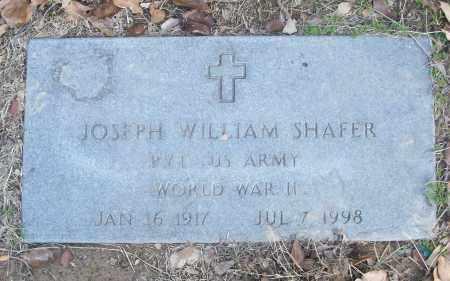 SHAFER (VETERAN WWII), JOSEPH WILLIAM - White County, Arkansas | JOSEPH WILLIAM SHAFER (VETERAN WWII) - Arkansas Gravestone Photos