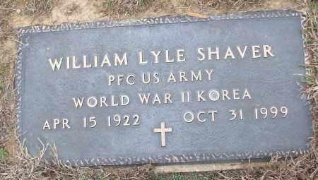 SHAVER (VETERAN 2 WARS), WILLIAM LYLE - White County, Arkansas | WILLIAM LYLE SHAVER (VETERAN 2 WARS) - Arkansas Gravestone Photos