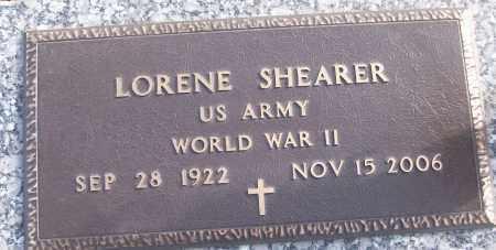 SHEARER (VETERAN WWII), LORENE - White County, Arkansas   LORENE SHEARER (VETERAN WWII) - Arkansas Gravestone Photos