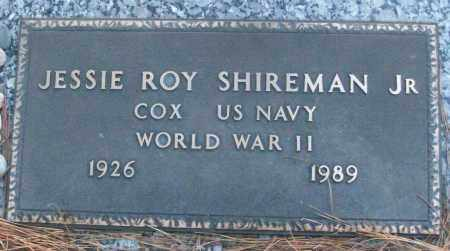 SHIREMAN, JR (VETERAN WWII), JESSIE ROY - White County, Arkansas | JESSIE ROY SHIREMAN, JR (VETERAN WWII) - Arkansas Gravestone Photos