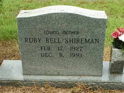 ROACH SHIREMAN, RUBY BELL - White County, Arkansas | RUBY BELL ROACH SHIREMAN - Arkansas Gravestone Photos