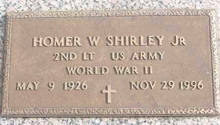 SHIRLEY, JR (VETERAN WWII), HOMER W - White County, Arkansas | HOMER W SHIRLEY, JR (VETERAN WWII) - Arkansas Gravestone Photos