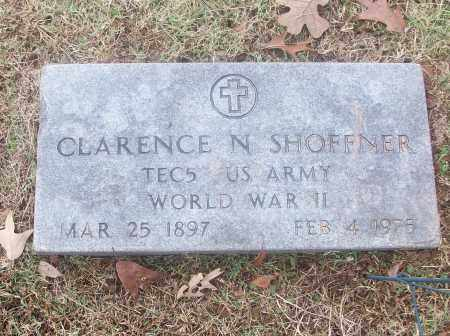SHOFFNER  (VETERAN  WWII), CLARENCE N - White County, Arkansas | CLARENCE N SHOFFNER  (VETERAN  WWII) - Arkansas Gravestone Photos