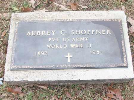 SHOFFNER  (VETERAN WWII), AUBREY C. - White County, Arkansas | AUBREY C. SHOFFNER  (VETERAN WWII) - Arkansas Gravestone Photos