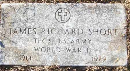 SHORT (VETERAN WWII), JAMES RICHARD - White County, Arkansas | JAMES RICHARD SHORT (VETERAN WWII) - Arkansas Gravestone Photos