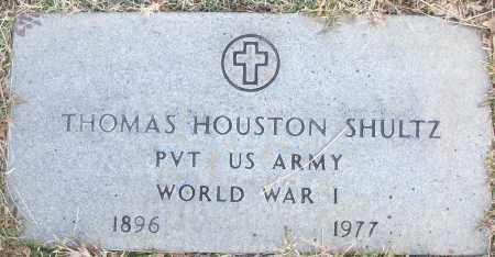 SHULTZ (VETERAN WWI), THOMAS HOUSTON - White County, Arkansas | THOMAS HOUSTON SHULTZ (VETERAN WWI) - Arkansas Gravestone Photos