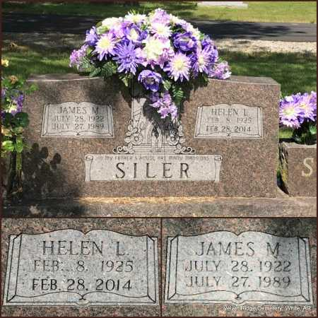 SILER, JAMES M - White County, Arkansas   JAMES M SILER - Arkansas Gravestone Photos
