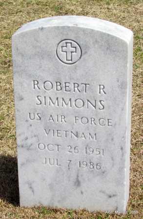 SIMMONS (VETERAN VIET), ROBERT R - White County, Arkansas | ROBERT R SIMMONS (VETERAN VIET) - Arkansas Gravestone Photos