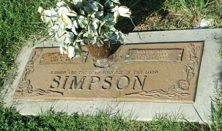 SIMPSON, ROY NATHENIAL - White County, Arkansas | ROY NATHENIAL SIMPSON - Arkansas Gravestone Photos