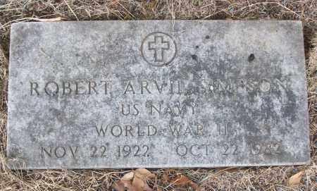 SIMPSON (VETERAN WWII), ROBERT ARVIL - White County, Arkansas   ROBERT ARVIL SIMPSON (VETERAN WWII) - Arkansas Gravestone Photos