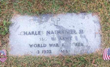 SIPES  (VETERAN 2 WARS), CHARLES NATHANIEL - White County, Arkansas   CHARLES NATHANIEL SIPES  (VETERAN 2 WARS) - Arkansas Gravestone Photos