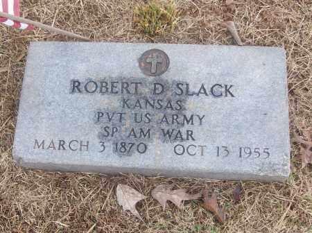 SLACK  (VETERAN SAW), ROBERT D - White County, Arkansas   ROBERT D SLACK  (VETERAN SAW) - Arkansas Gravestone Photos