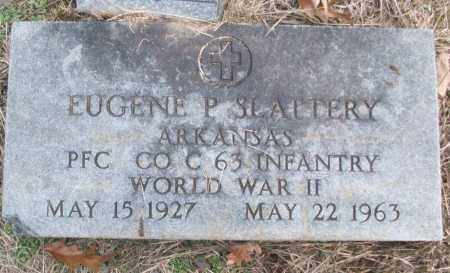 SLATTERY (VETERAN WWII), EUGENE P - White County, Arkansas | EUGENE P SLATTERY (VETERAN WWII) - Arkansas Gravestone Photos