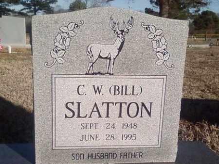 SLATTON, C WILLIAM - White County, Arkansas   C WILLIAM SLATTON - Arkansas Gravestone Photos