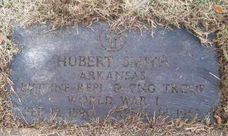 SMITH  (VETERAN WWI), HUBERT - White County, Arkansas | HUBERT SMITH  (VETERAN WWI) - Arkansas Gravestone Photos