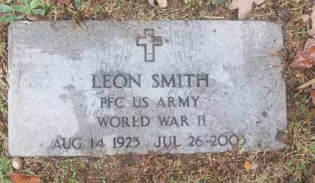 SMITH  (VETERAN WWII), LEON - White County, Arkansas | LEON SMITH  (VETERAN WWII) - Arkansas Gravestone Photos