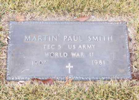 SMITH  (VETERAN WWII), MARTIN PAUL - White County, Arkansas | MARTIN PAUL SMITH  (VETERAN WWII) - Arkansas Gravestone Photos