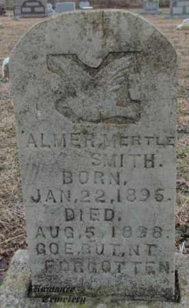 SMITH, ALMER MERTLE - White County, Arkansas | ALMER MERTLE SMITH - Arkansas Gravestone Photos