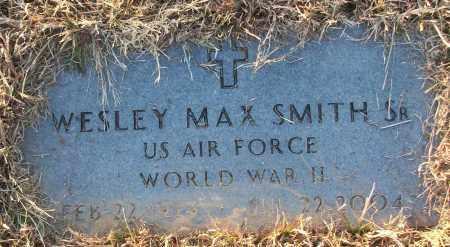 SMITH, JR (VETERAN WWII), WESLEY MAX - White County, Arkansas | WESLEY MAX SMITH, JR (VETERAN WWII) - Arkansas Gravestone Photos