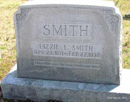 SMITH, LIZZIE L - White County, Arkansas | LIZZIE L SMITH - Arkansas Gravestone Photos
