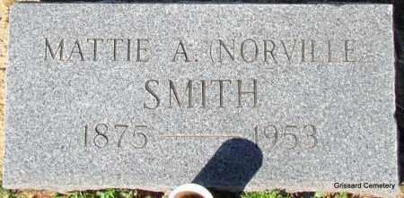SMITH, MATTIE A - White County, Arkansas | MATTIE A SMITH - Arkansas Gravestone Photos
