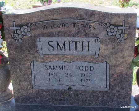 SMITH, SAMMIE TODD - White County, Arkansas   SAMMIE TODD SMITH - Arkansas Gravestone Photos