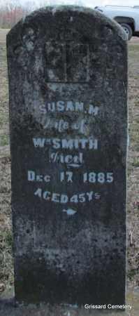 SMITH, SUSAN M - White County, Arkansas   SUSAN M SMITH - Arkansas Gravestone Photos
