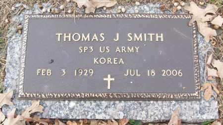 SMITH (VETERAN KOR), THOMAS J - White County, Arkansas   THOMAS J SMITH (VETERAN KOR) - Arkansas Gravestone Photos