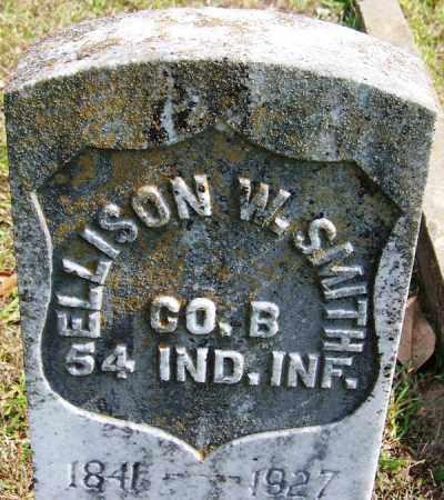 SMITH (VETERAN UNION), ELLISON W - White County, Arkansas | ELLISON W SMITH (VETERAN UNION) - Arkansas Gravestone Photos