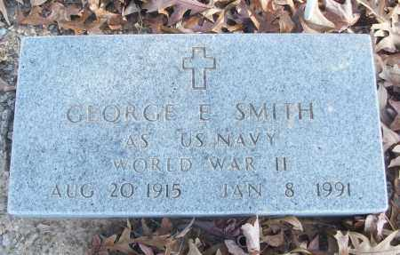 SMITH (VETERAN WWII), GEORGE E - White County, Arkansas | GEORGE E SMITH (VETERAN WWII) - Arkansas Gravestone Photos
