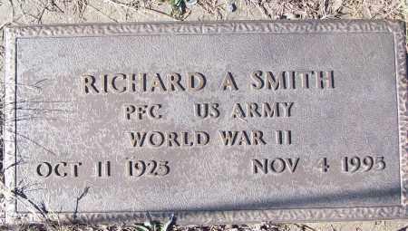 SMITH (VETERAN WWII), RICHARD A - White County, Arkansas | RICHARD A SMITH (VETERAN WWII) - Arkansas Gravestone Photos