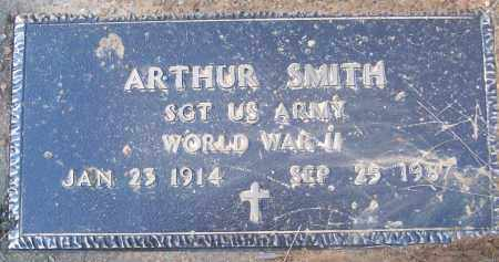 SMITH (VETERAN WWII), ARTHUR - White County, Arkansas   ARTHUR SMITH (VETERAN WWII) - Arkansas Gravestone Photos