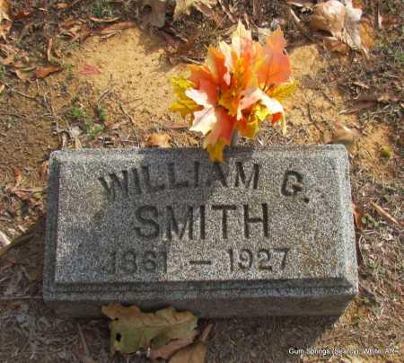 SMITH, WILLIAM G. - White County, Arkansas | WILLIAM G. SMITH - Arkansas Gravestone Photos