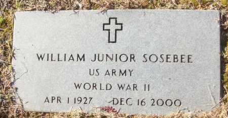 SOSEBEE (VETERAN WWII), WILLIAM JUNIOR - White County, Arkansas | WILLIAM JUNIOR SOSEBEE (VETERAN WWII) - Arkansas Gravestone Photos