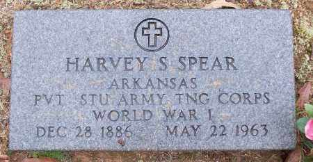 SPEAR (VETERAN WWI), HARVEY S - White County, Arkansas | HARVEY S SPEAR (VETERAN WWI) - Arkansas Gravestone Photos