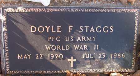 STAGGS (VETERAN WWII), DOYLE F - White County, Arkansas   DOYLE F STAGGS (VETERAN WWII) - Arkansas Gravestone Photos